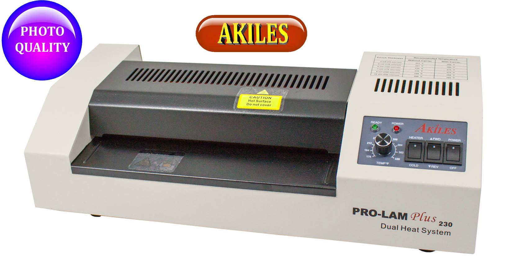 Akiles pouch laminator Prolam plus 160