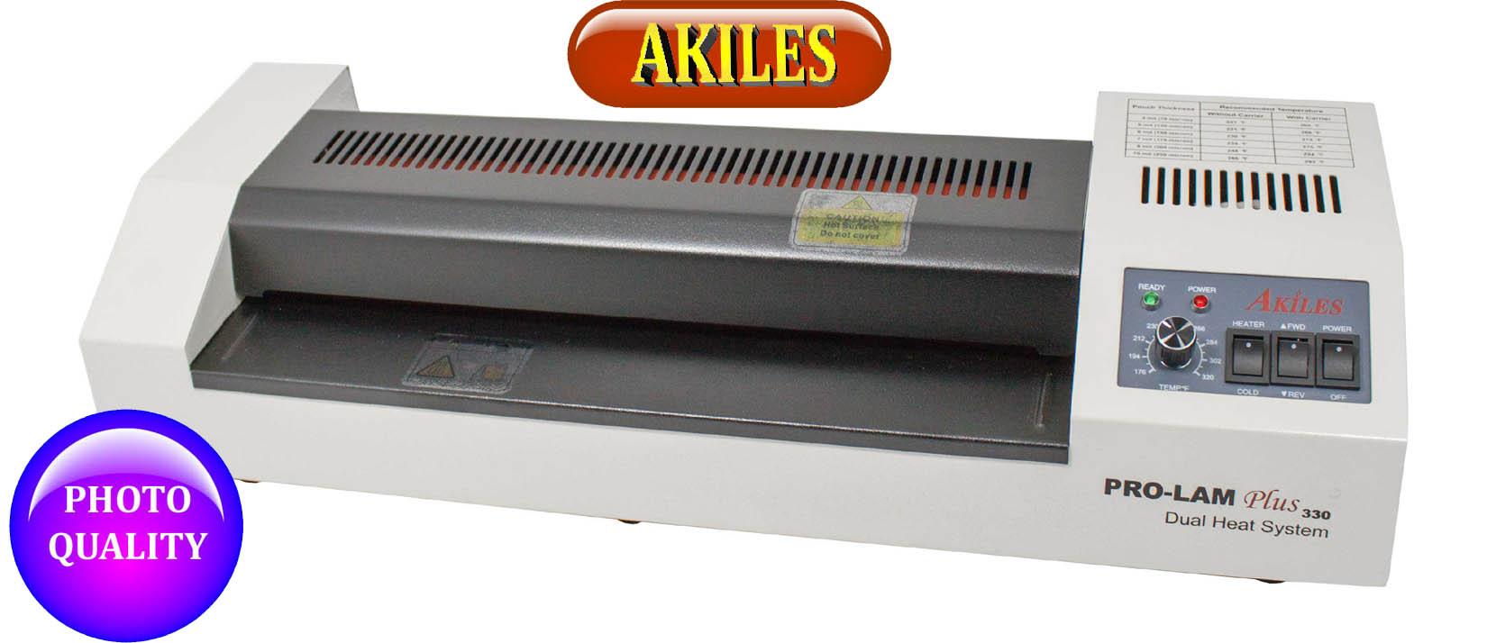 Akiles pouch laminator Prolam plus 330