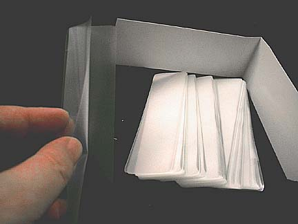 Qty 500 7 Mil Small Bookmarks Laminating Pouches 1 3 8 X 5