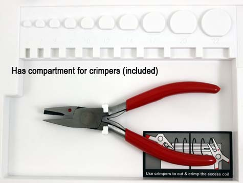 how to use coil binding hand crimpers