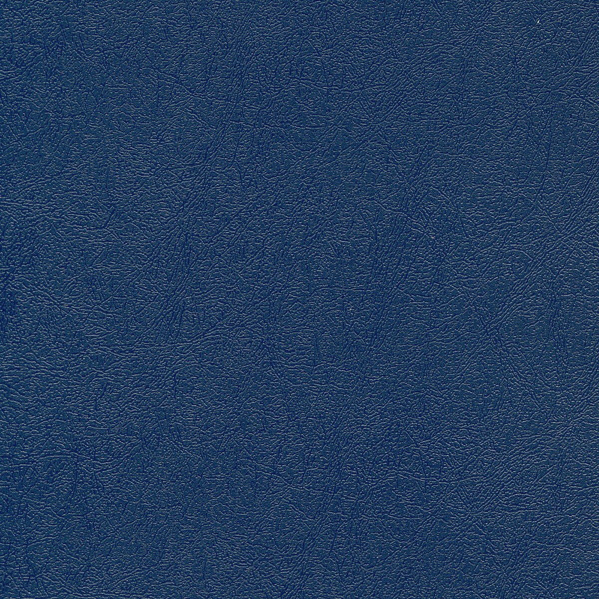 Navy Blue Leather Embossed Plastic Binding Covers And